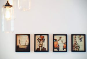 different types of wall art