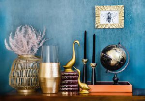 how to decorate with metal wall art