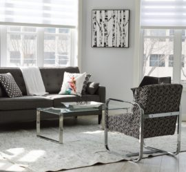 how to decorate with black and white wall art